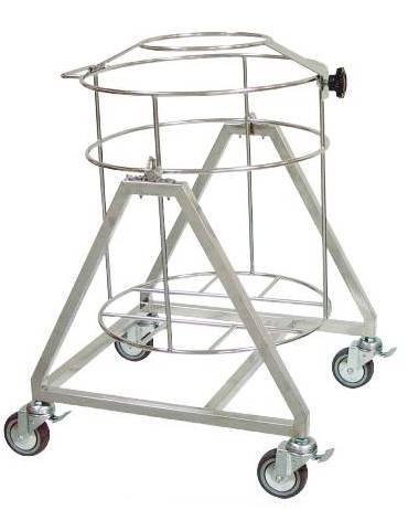 不锈钢氮气桶架(大)