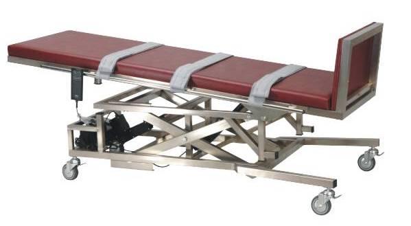 不锈钢电动倾斜床(床面可升降)