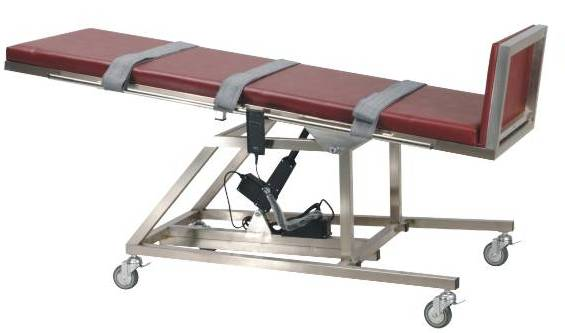 不锈钢电动倾斜床