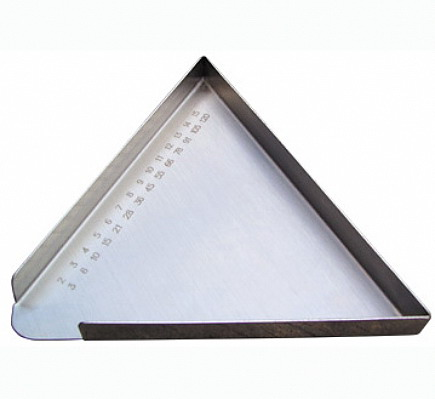 不锈钢数药盘(刻度)